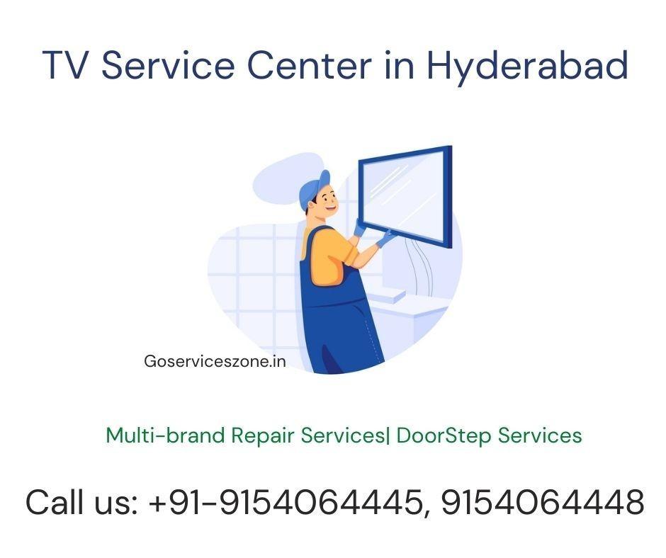 TV Repair Service Center in Hyderabad - 9154064446 | Goserviceszone